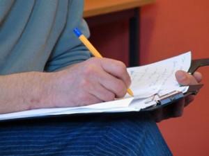 Writing script
