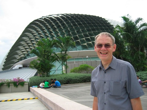Barrie at The Durian in Singapore