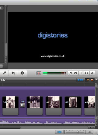 iMovie '11 screenshot
